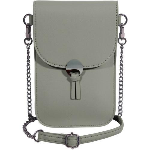 Secondary Save The Girls Colorado Solid Cell Phone Handbag -Grey