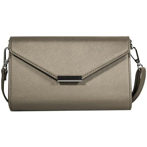 Secondary Save The Girls Timeless Metallic Cell Phone Handbag -Grey