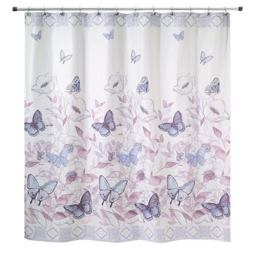 Avanti In The Garden Shower Curtain -Multi