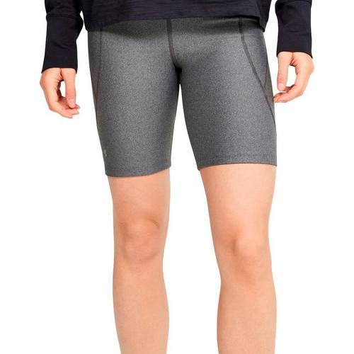 Under Armour Womens HeatGear Bike Shorts -Grey
