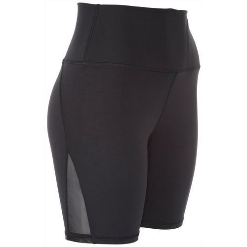 Brisas Womens Bike Shorts -Black