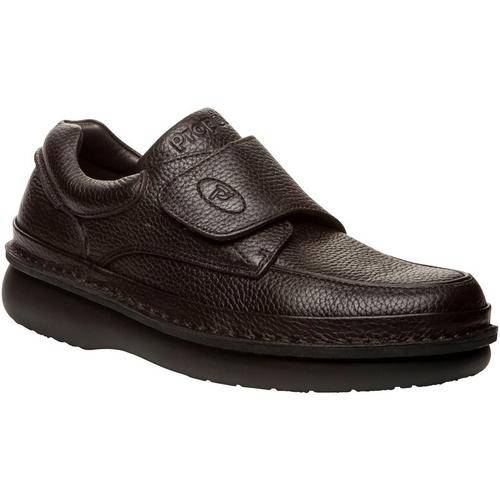 Propet USA Mens Scandia Strap Shoes -Brown