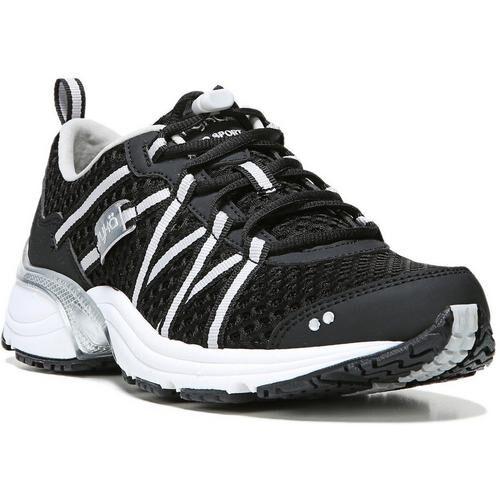 Ryka Womens Hydro Sport Black Water Shoes -Black