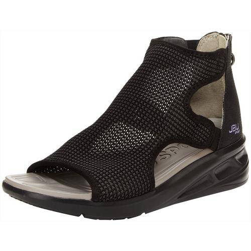 J sport Womens Nadine Wedge Sandals -Black