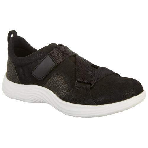 Clarks Womens Lulu Go Sport Shoes -Black