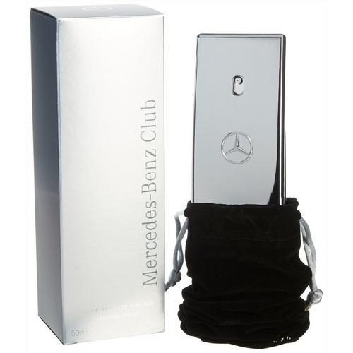 Mercedes Benz Club Mens Eau De Toilette 1.7 fl. oz. -Silver