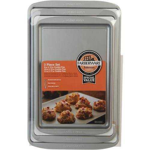 Farberware 3-pc. Cookie Sheet Set -