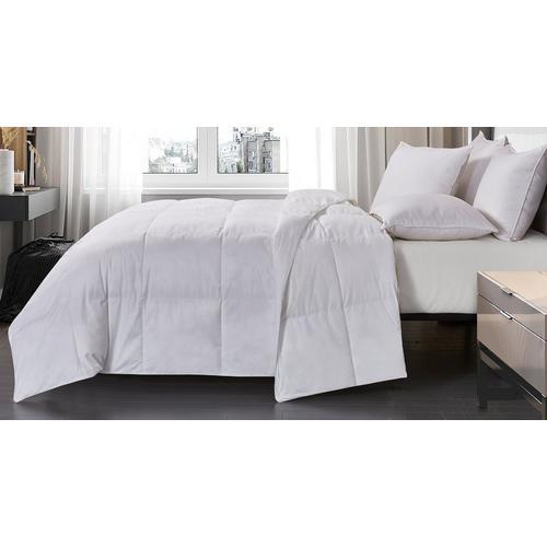 Blue Ridge Home Olympia 233 Thread Count Down Comforter -White