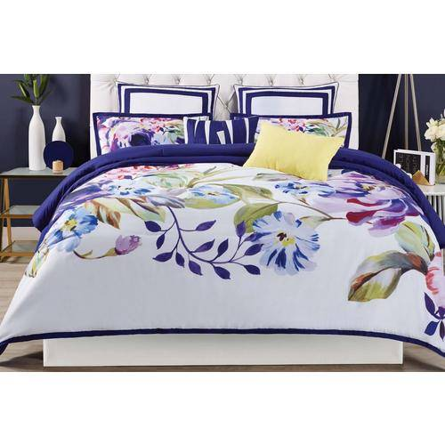 Christian Siriano NY Garden Bloom Comforter Set -Multi