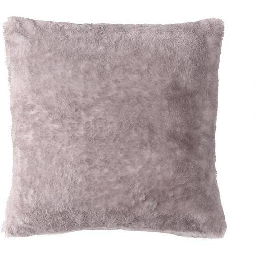 Morgan Home Fashions Millburn Single Faux Fur Throw Pillow -Purple