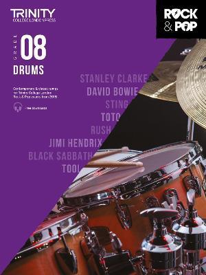 Trinity College London Rock & Pop 2018 Drums Grade 8