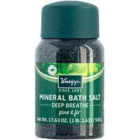 Kneipp Deep Breathe Pine & Fir Mineral Bath Salt Soak