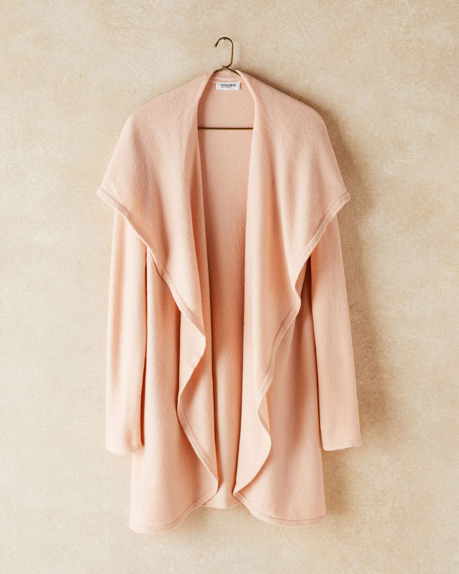 Talbots Oversized Shawl Cardigan Sweater - Blush - Medium Talbots  - Blush - Size: female - Size: Medium