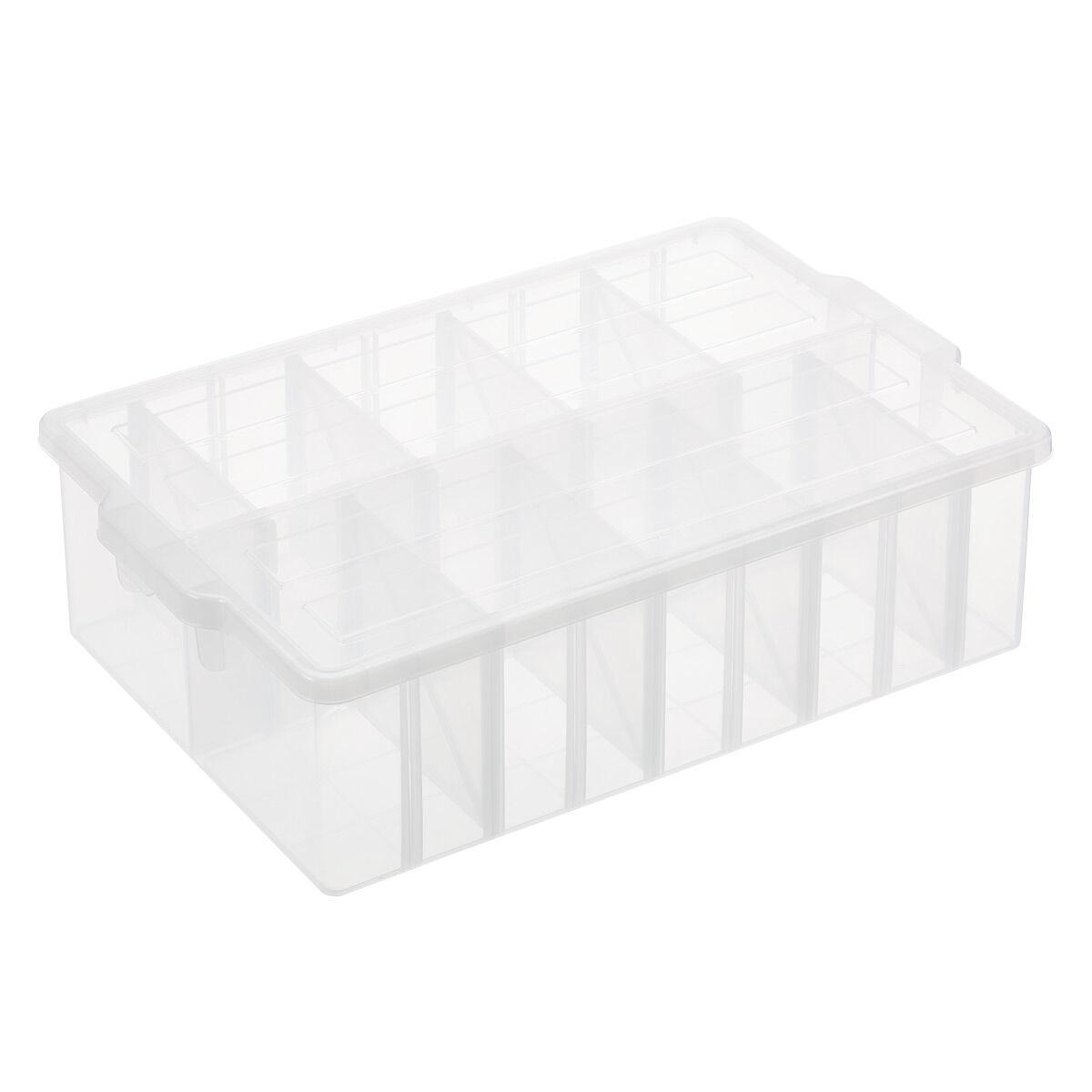 Craft & Media Organizer Box