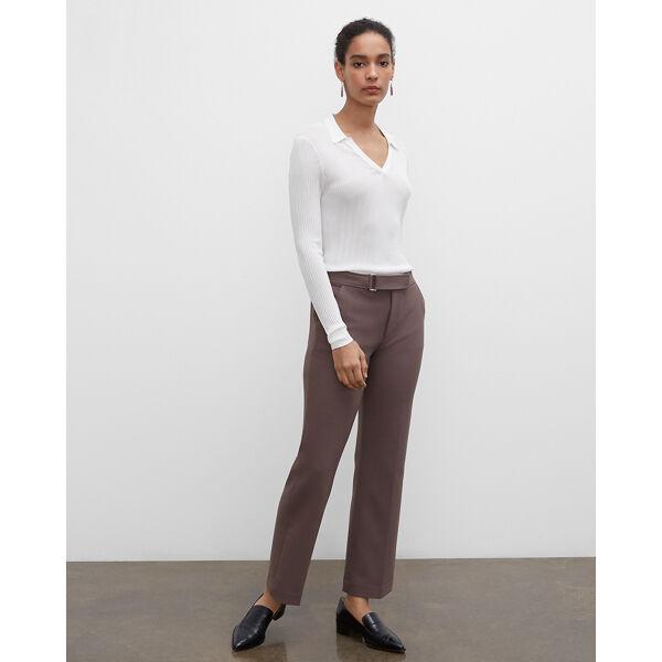 Club Monaco Mountain Grey Bootcut Trousers in Size 8 [Female]