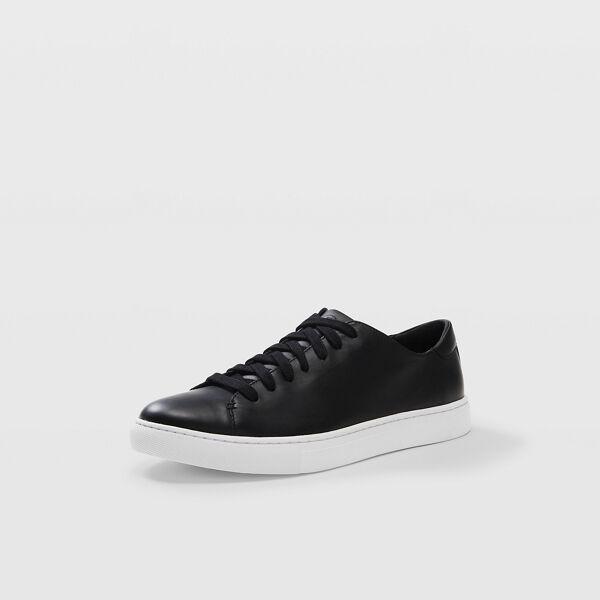Club Monaco Black Club Monaco Leather Sneakers in Size 10.5 [Male]