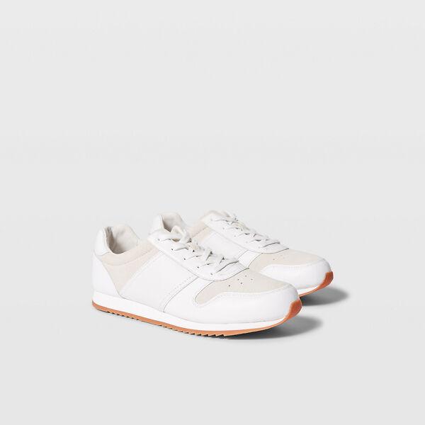 Club Monaco White Club Monaco Runner Sneaker in Size 8.5 [Male]