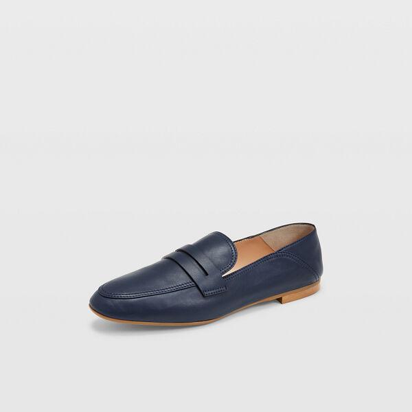 Club Monaco Navy Kedda Loafers in Size 36.5 [Female]