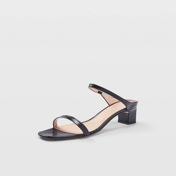 Club Monaco Black Marnee Sandals in Size 39 [Female]