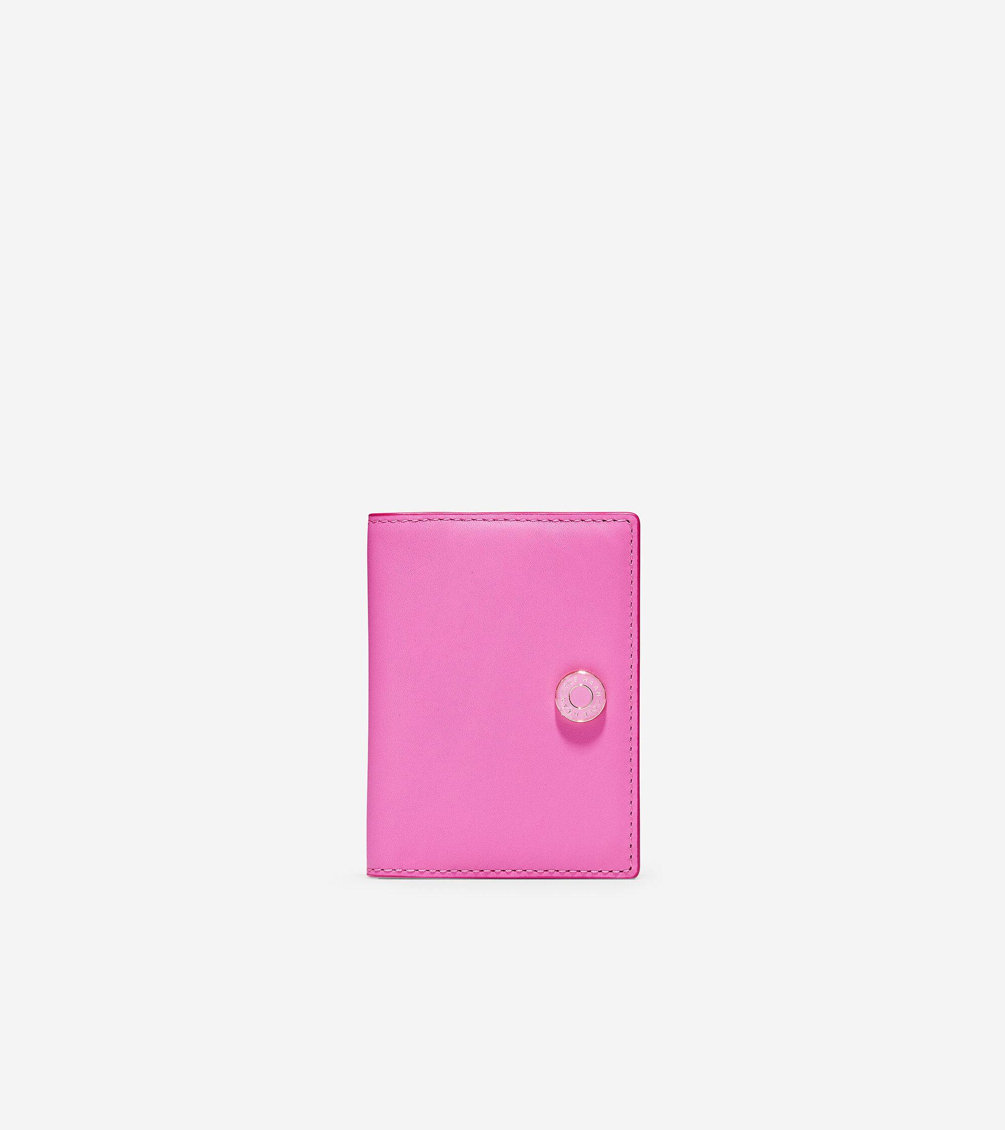 Cole Haan GRANDSERIES Card Case - PINK - Size: OSFA