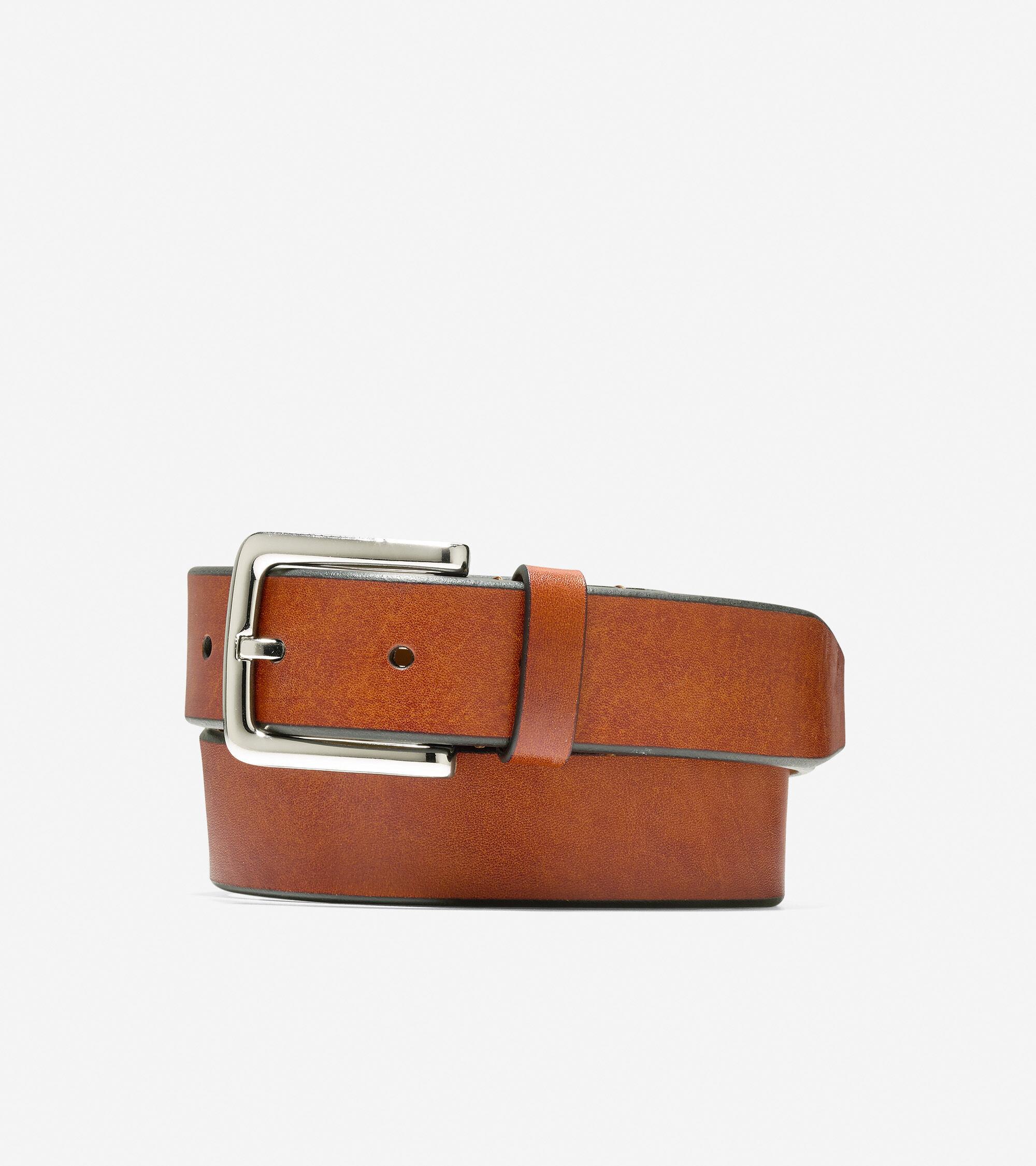 Cole Haan Washington Grand 32mm Belt - Light Brown - Size: 34