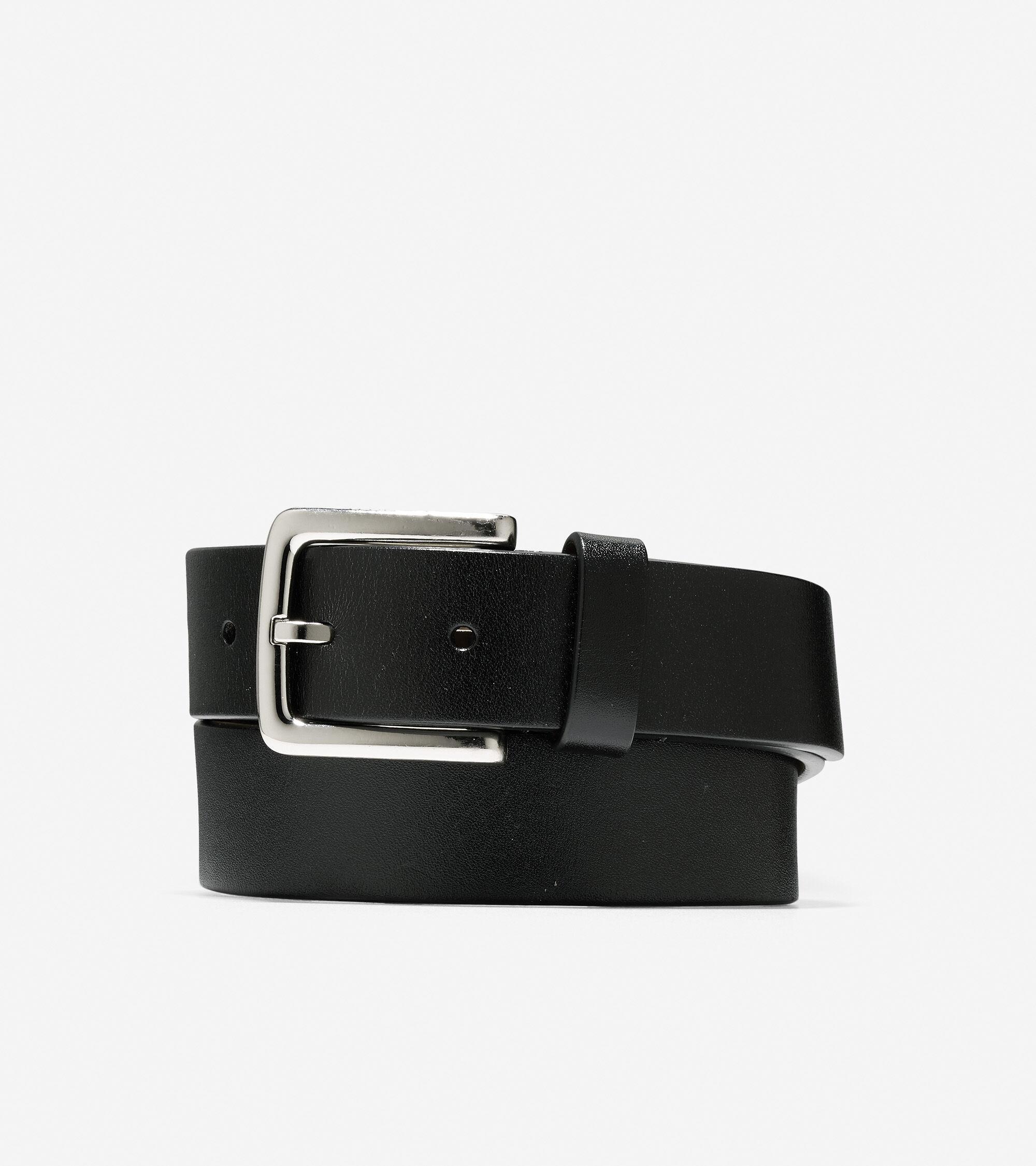 Cole Haan Washington Grand 32mm Belt - Black - Size: 36