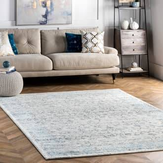 Rugs USA Aqua Bosphorus Misty Olden Herati rug - Transitional Square 8'