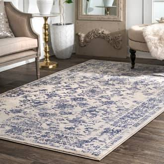 "Rugs USA Blue Arabella Botanic Garden rug - Traditional Rectangle 6' 7"" x 9'"