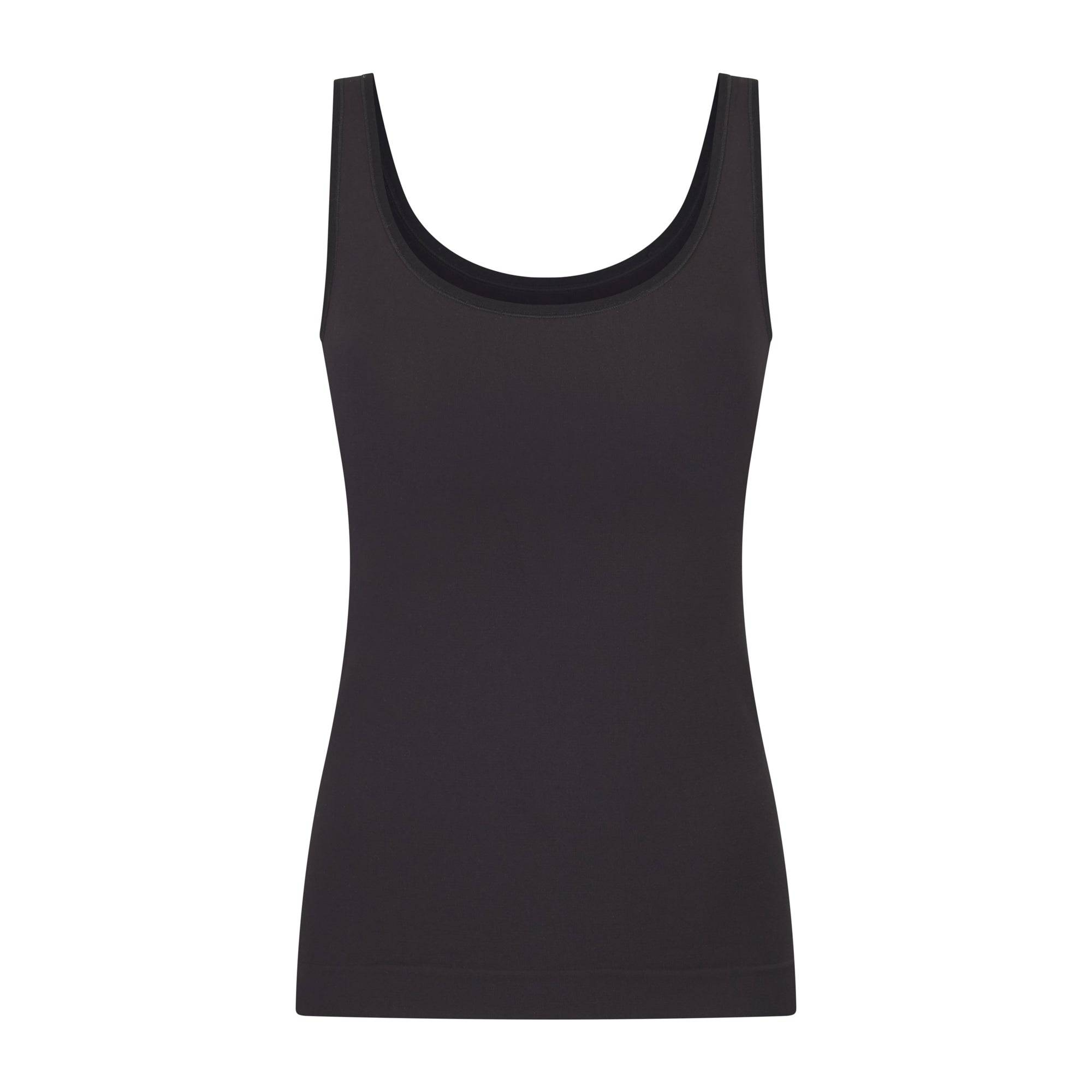 SKIMS Women's Sculpting Tank Shapewear - Black - Size L/XL; Black