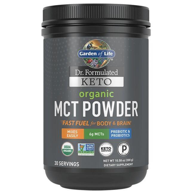 Garden of Life Dr. Formulated Keto Organic Mct 10.58 oz Powder Essential Fatty Acids