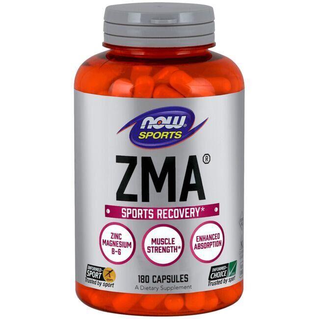NOW Foods Zma 180 Caps Energy