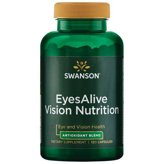 Swanson Ultra Eyesalive Vision Nutrition 120 Caps Vision Health