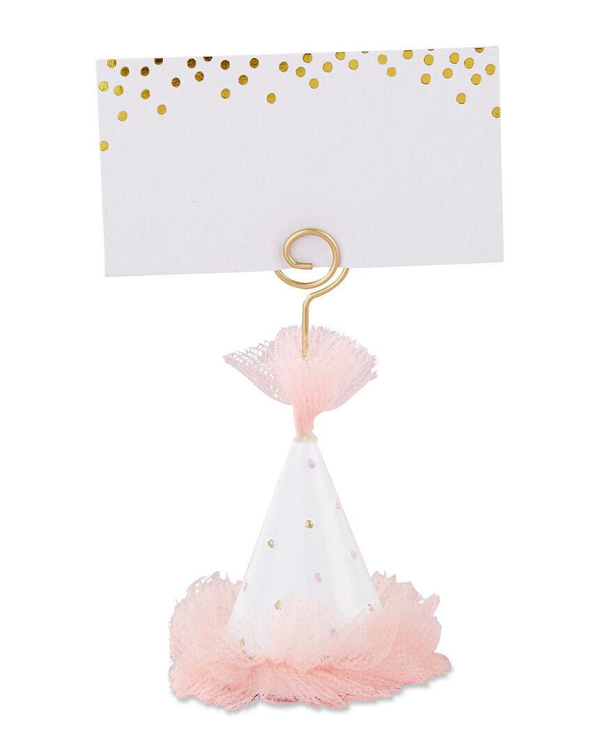 Kate Aspen Set o Kate Aspen Pink Party Hat Place Card Holders