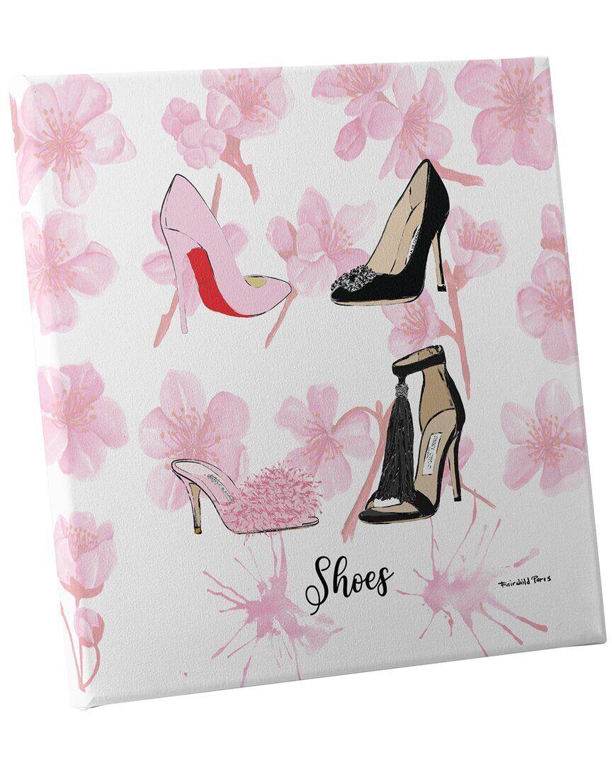 Fairchild Paris Fashion Shoes Wall Art - Size: 30x30x1.5