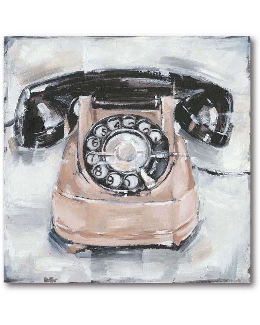 "Courtside Market Wall Decor Courtside Market Rotary Phone III - Size: 16"" x 16"""