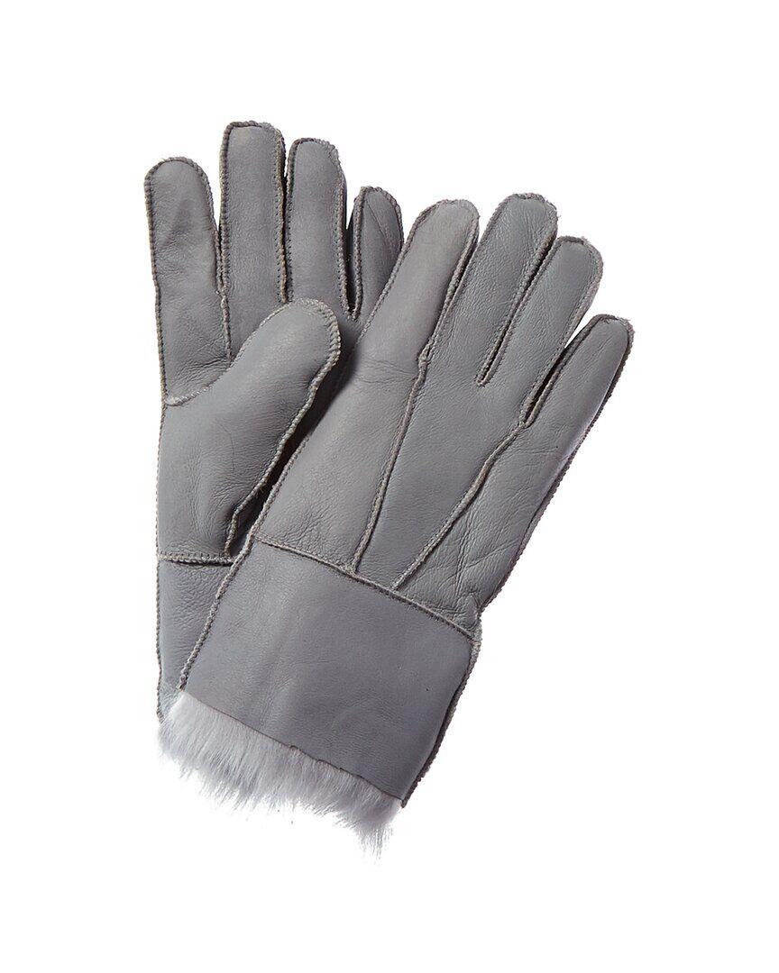 Surell Accessories Toscanna Gloves - Grey - Size: Large