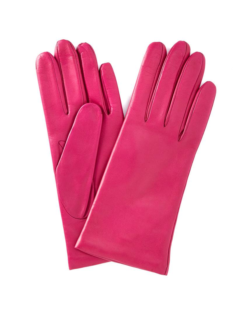 Portolano Cashmere-Lined Leather Gloves - Size: 7.5