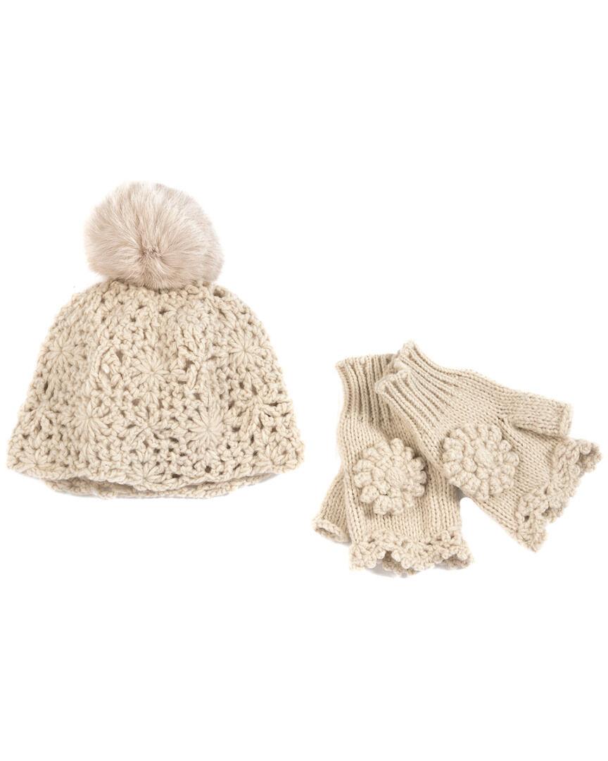 Shiraleah Gen Hat & Fingerless Gloves