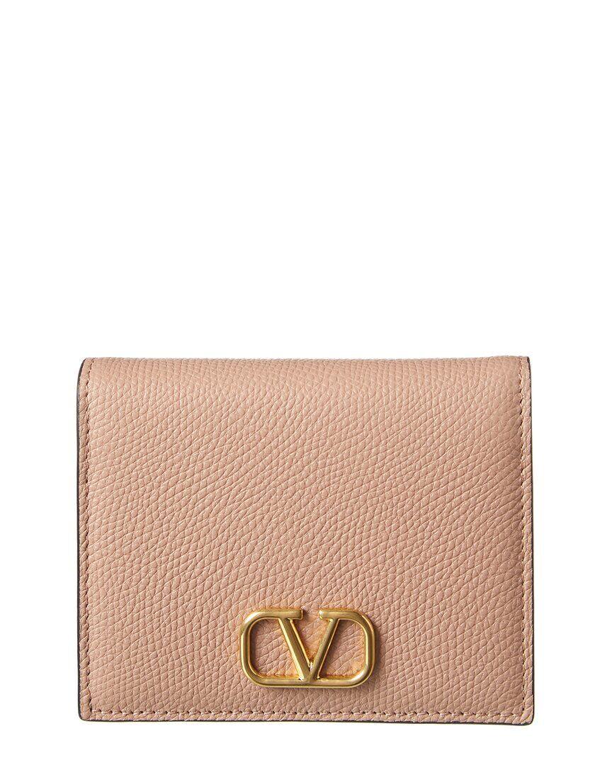 Valentino VLogo Leather Card Case
