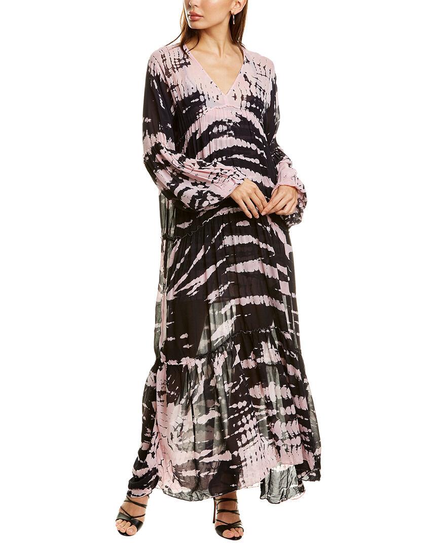 YFB CLOTHING Josette Maxi Dress - Pink - Size: S
