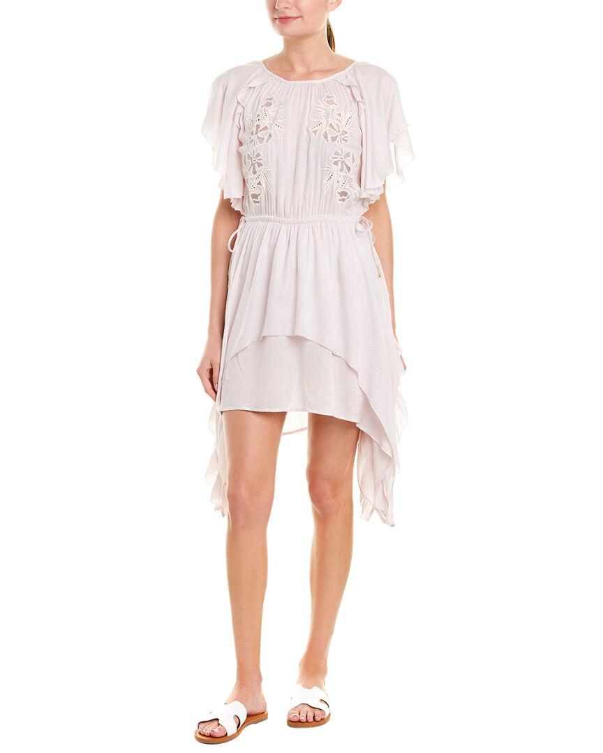 YFB Clothing Young Fabulous & Broke Henrietta A-Line Dress - Pink - Size: M