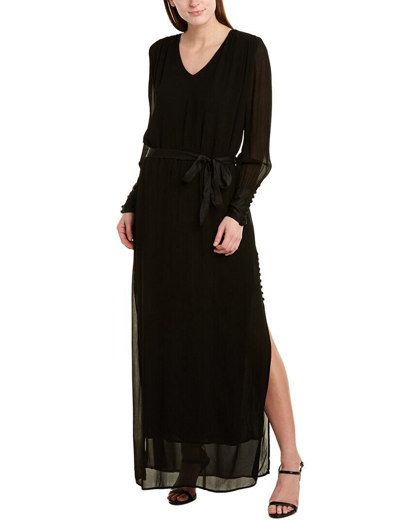 YFB CLOTHING Elise Maxi Dress - Black - Size: S