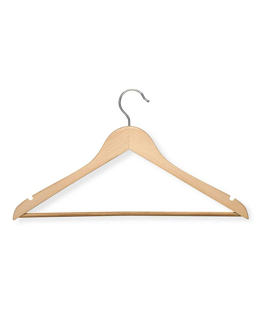 honey can do Honey-Can-Do Set of 24 Wooden Clothes Hangers