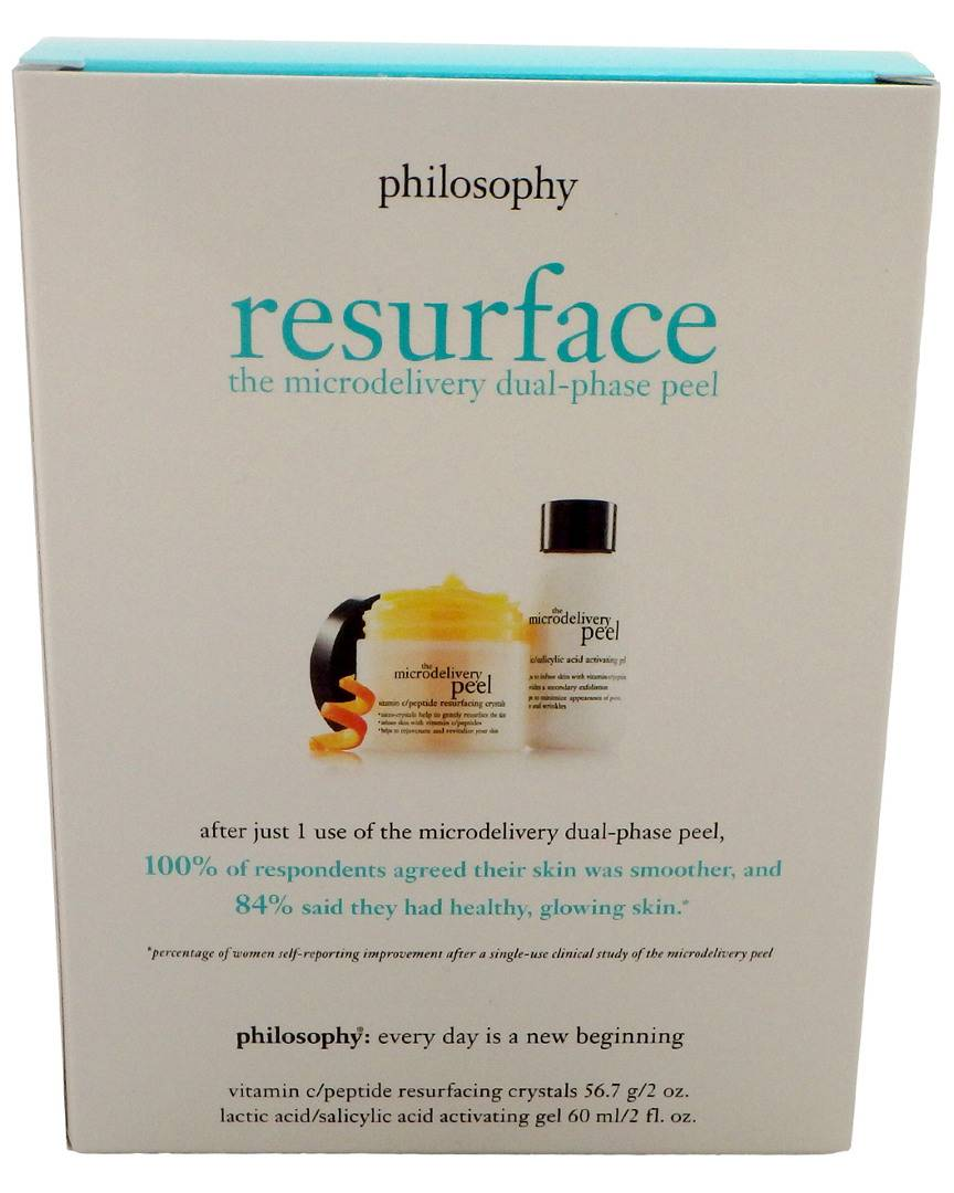 Philosophy Women's 2pc The Microdelivery In-Home Vitamin C Peptide Peel Kit