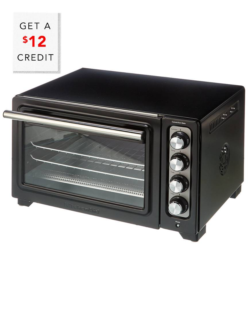 KitchenAid 12In Convection Digital Countertop Oven - KCO253Q2BM with $12 Credit