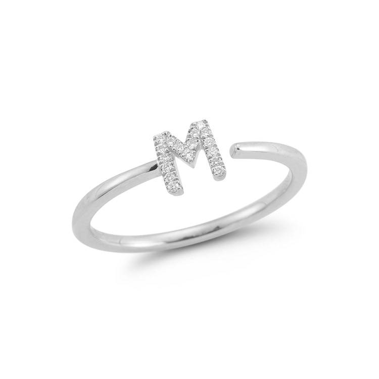 Dana Rebecca Designs DRD Single Initial Ring