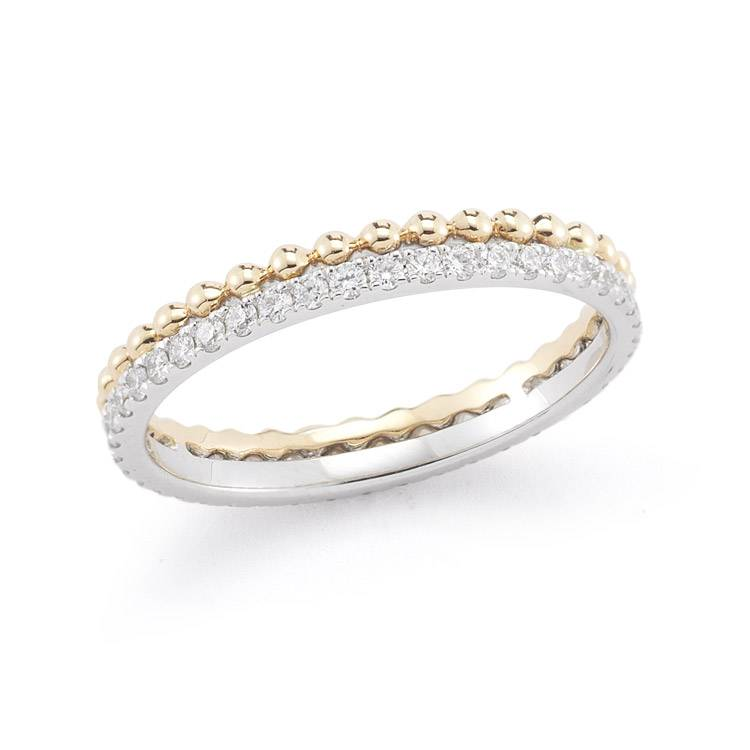 Dana Rebecca Designs Poppy Rae Diamond Pebble Ring