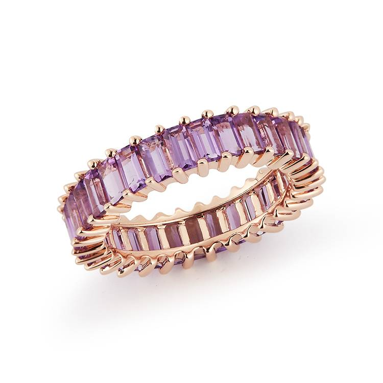 Dana Rebecca Designs Kristyn Kylie Baguette Gemstone Ring