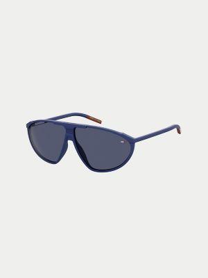 Tommy Hilfiger Women's Sport Sunglasses Matte Blue -