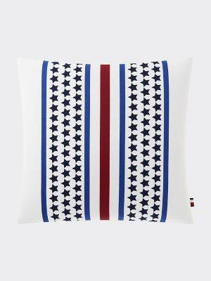 Tommy Hilfiger Women's Stars And Stripes Decorative Pillow Sport Stripe / Stars -